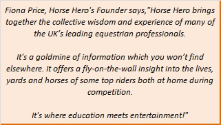 Fiona Price, Horse Hero