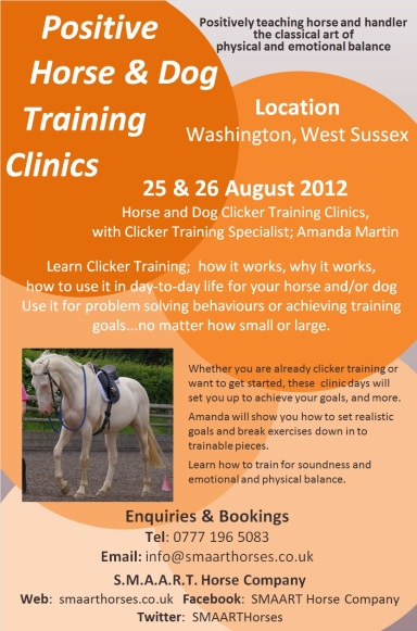 West Sussex Clinic Aug 12